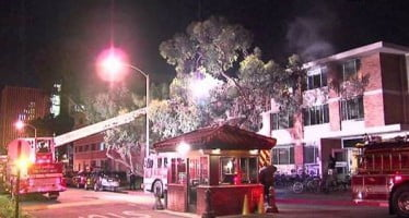Unattended candles at center of dorm fire