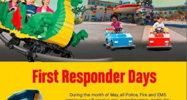 First Responder Days at LEGOLAND Florida offer free park tickets during May