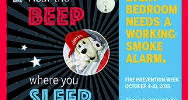 NFPA announces theme for Fire Prevention Week 2015
