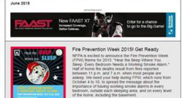 In June issue of Safety Source: launch of Fire Prevention Week 2015, new American Sign Language video & Más