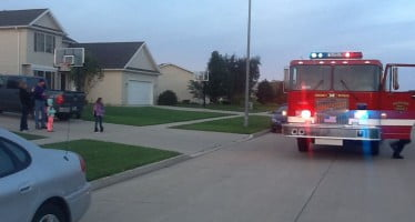 Fire department in Iowa makes Fire Prevention Week memorable for the kids