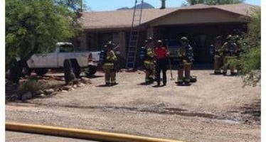 House fire caused by frying oil on stove