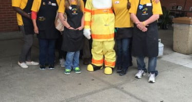 NFPA, Stop & Shop, Narragansett Fire & Rescue and RI State Marshals Office join forces in Rhode Island to raise awareness of grilling fire safety