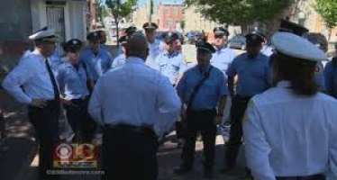A Baltimore official helps to heighten awareness about smoke alarm safety