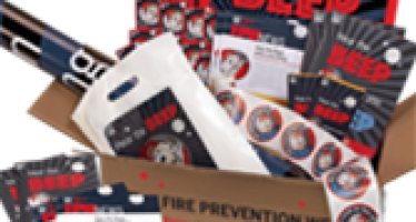 Fire departments: Take the Fire Prevention Week Challenge and win!