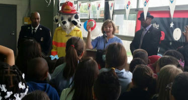 NFPA and Domino's kick off 8th annual campaign with Detroit Fire Department