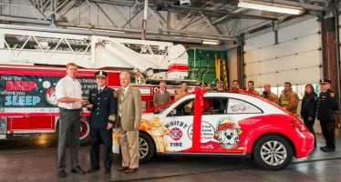 Department has new vehicle for delivering the message on fire safety