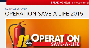 Smoke alarm donations help fire departments: HEAR THE BEEP WHERE YOU SLEEP!