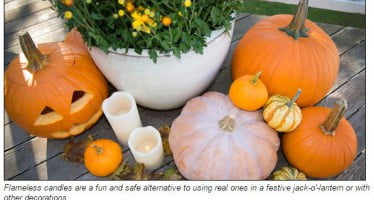 NFPA's spooky fire safety tips featured on Martha Stewart Living