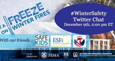 Join us for a Twitter chat all about #WinterSafety tomorrow at 2:00pm ET