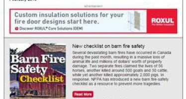 In the February issue of Safety Source: carbon monoxide toolkit, barn fire safety checklist, electrical safety infographic & more