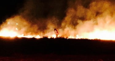 Fire officials say sky lantern started 15-acre Wisconsin fire