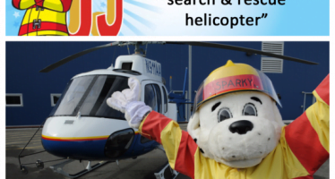 Sparky checks off bucket list item #5: Paseo en helicóptero Helo-2 de Alaska