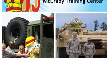 Sparky checks off bucket list item #9: Join the Army and train at the McCrady Training Center