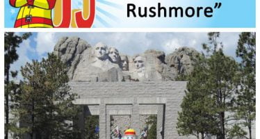 Sparky checks of bucket list items #10 y #11: Visit Mount Rushmore and the Crazy Horse Memorial