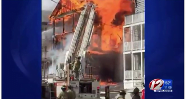 Providence firefighters offer fire safety tips to college students