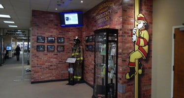 Fire safety center is an attention getter