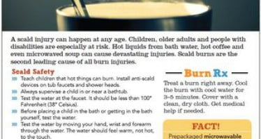 Share burn and fire prevention tips during Burn Awareness Week