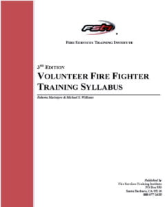 Fire Services Training Institute COVER SHEET